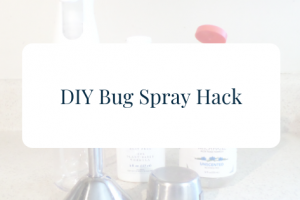 diy bug spray hack