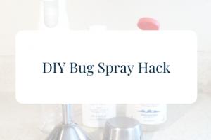 diy bug spray hack